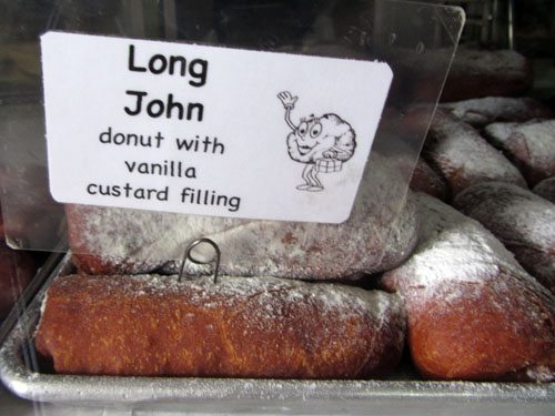 T Komoda Store and Bakery Long Johns