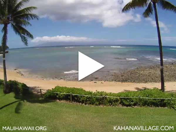 Kahana Village Maui webcam