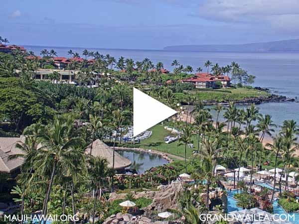 Wailea Beach Maui Sunset Webcam