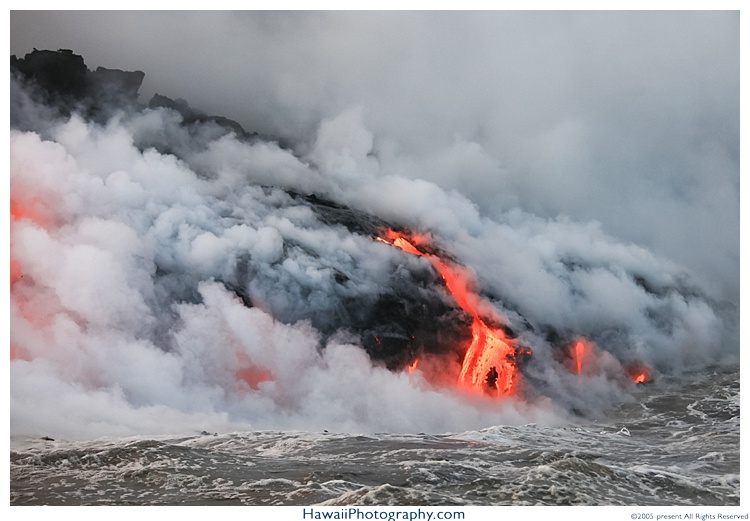 Hawaii lava helicopter