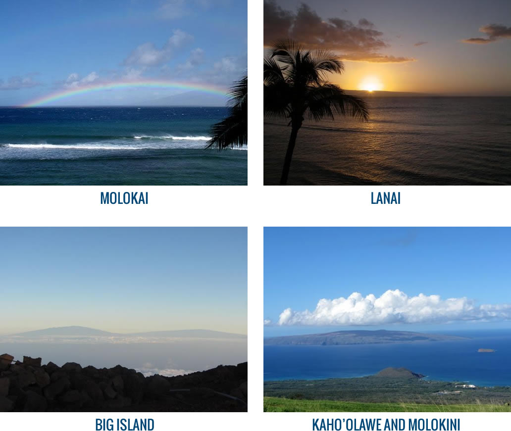 Which Hawaiian Islands Can I See From Maui