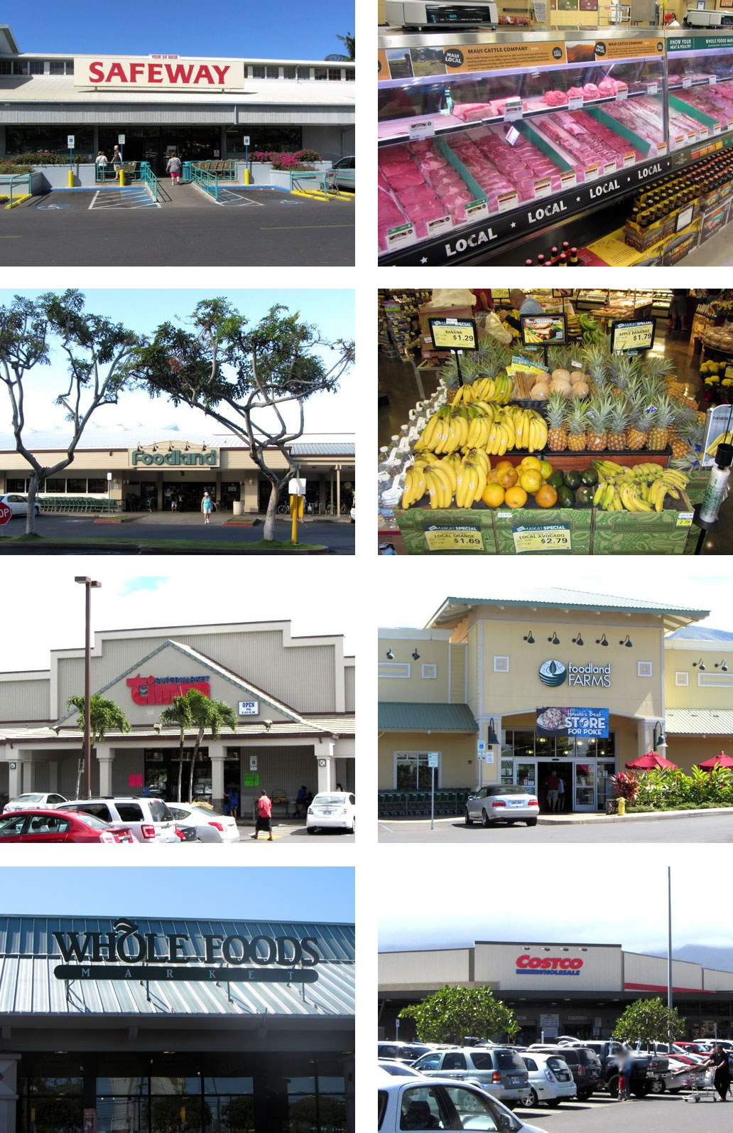 Maui Grocery Stores