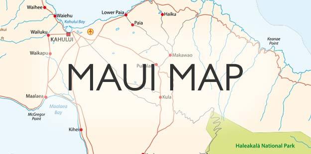 free Maui map
